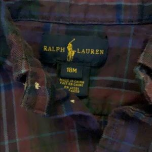 Ralph Lauren Shirts & Tops - EUC Ralph Lauren Purple Plaid Shirt